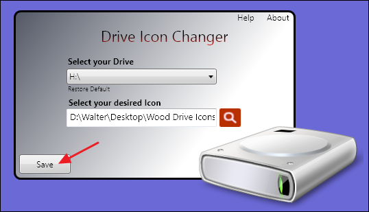 executable file icons changer registration code