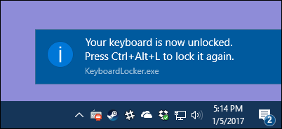 How to Temporarily Disable Your Keyboard with a Keyboard Shortcut in