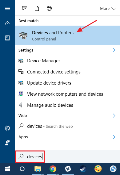 clear printer queue windows 10