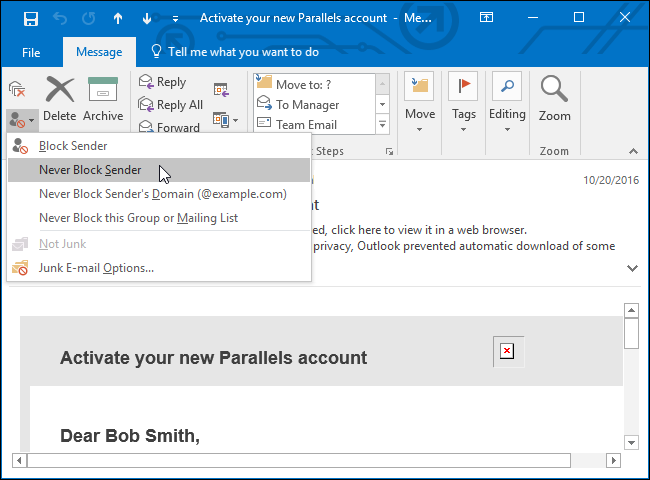 how to stop microsoft outlook from deleting emails