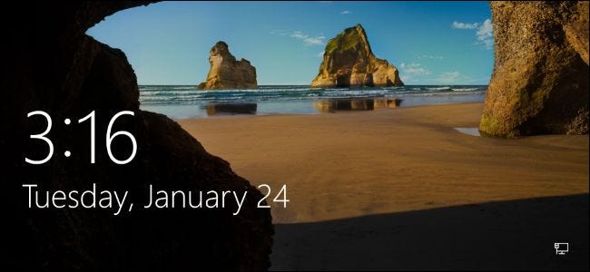 The lock screen on Windows 8 and 10 isn't just a background image or  slideshow. It can display notifications and detailed status information  from a variety ...