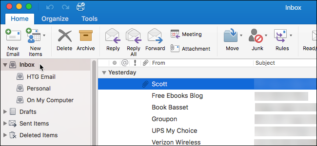How to Disable the Unified Inbox (and Grouped Folders) in Outlook
