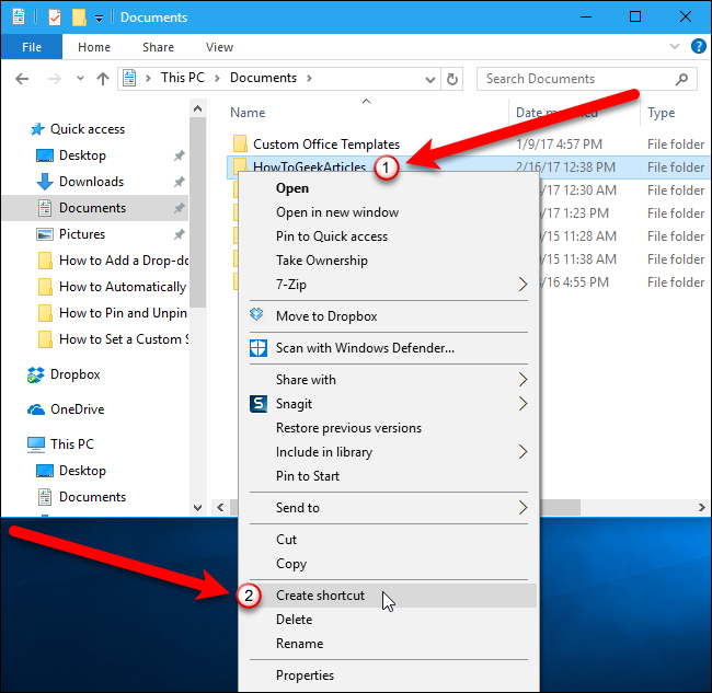 Windows 10 S File Explorer Open And Navigate To The Folder You Want By Default But Don T It Instead Right Click On