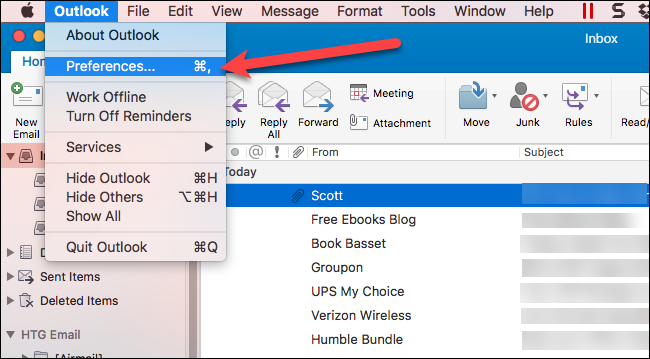 How to Disable the Unified Inbox (and Grouped Folders) in
