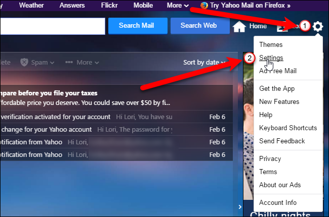 How to Switch Between the Full and Basic Versions of Yahoo Mail