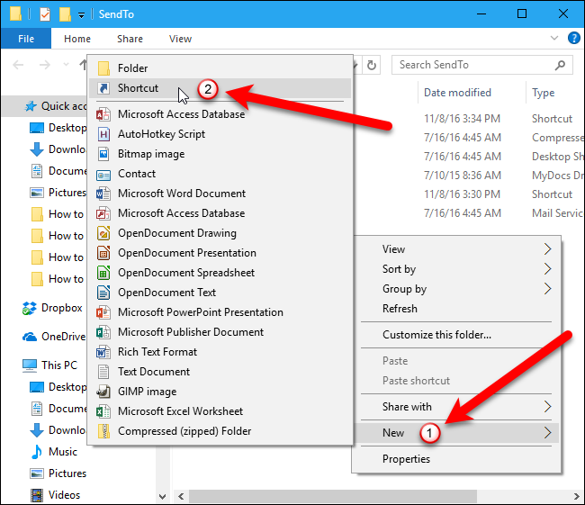 How to Add an Application to the Quick Launch Menu in Windows