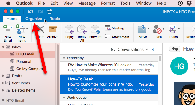 How To View Attachments In Outlook Conversation