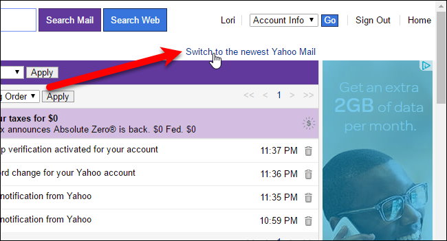 07_switching_back_to_full_featured_yahoo_mail