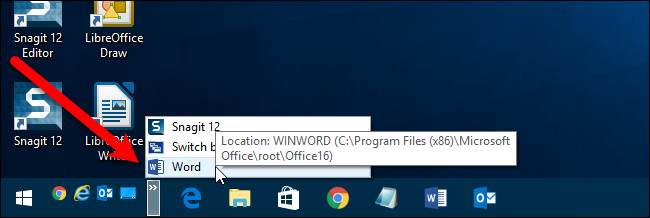 how to add quick launch in windows xp