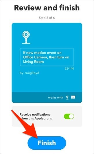 How to Automatically Turn on Lights When Your Wi-Fi Cam