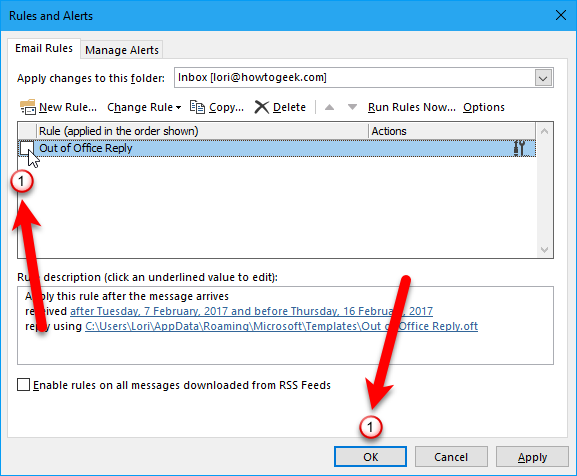 How to set up an out of office reply in outlook for windows when you use this rule to send an automated out of office reply the reply is sent once to each sender during a single outlook session maxwellsz