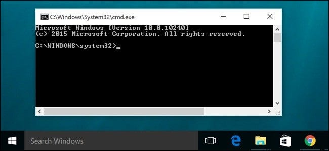 run as administrator in windows 10 cmd