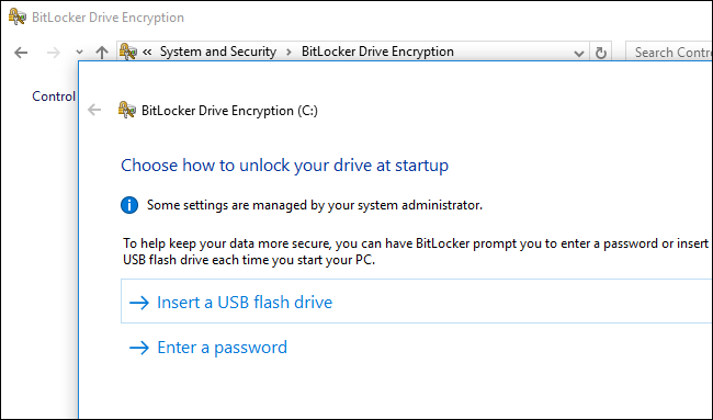How to Use BitLocker Without a Trusted Platform Module (TPM)