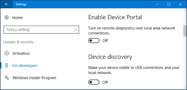 What Is Developer Mode In Windows 10
