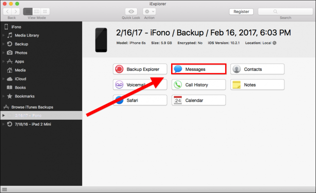 How to Recover Deleted iMessages from an iPhone or iPad