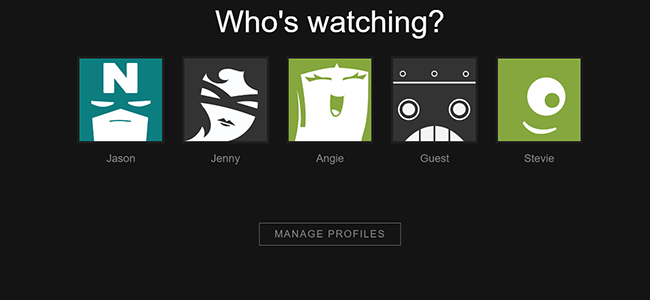 choose another picture on netflix account