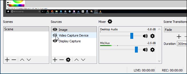how to set up obs to record your screen