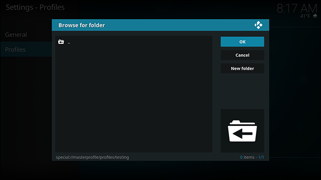 How to Set up Multiple Profiles in Kodi for Separate Watch Lists