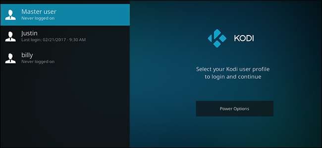 How to Set up Multiple Profiles in Kodi for Seperate Watch Lists