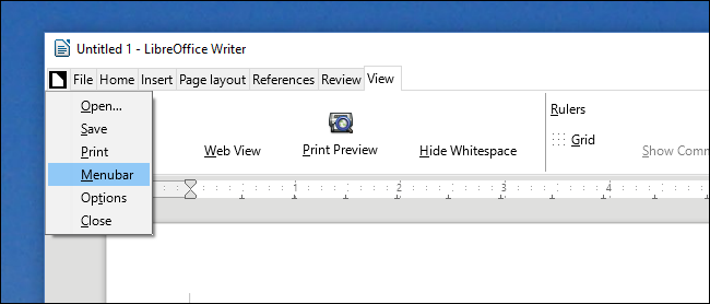 "How to Enable The Experimental ""Ribbon"" Interface in LibreOffice"