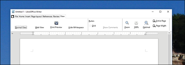 """How to Enable The Experimental """"Ribbon"""" Interface in LibreOffice"""