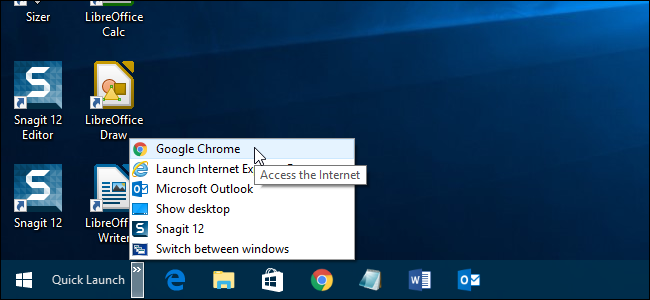 How To Bring Back The Quick Launch Bar In Windows 7 8 Or 10
