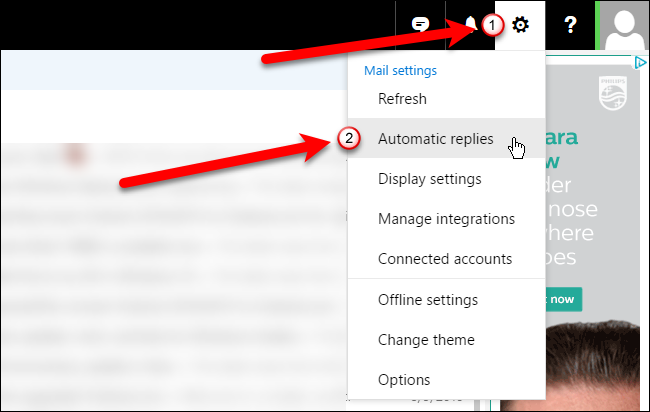 how to set up out of office outlook 2007