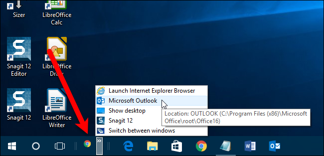 Once Youve Set Up The Quick Launch Bar Way You Want Lock Taskbar Again By Right Clicking On Any Empty Space And Selecting