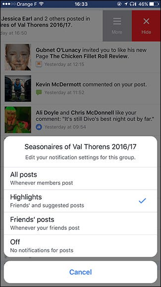 how to turn off recommended games on facebook 2017