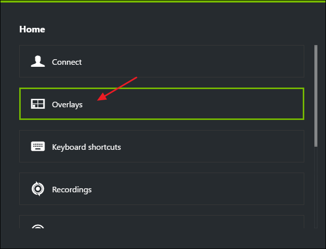 In The U201cOverlaysu201d Window, Select The U201cFPS Counteru201d Tab And Then Click One  Of The Four Quadrants To Pick Where You Want Your FPS Counter.