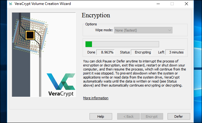 ... VeraCrypt interface and click System > Permanently Decrypt System