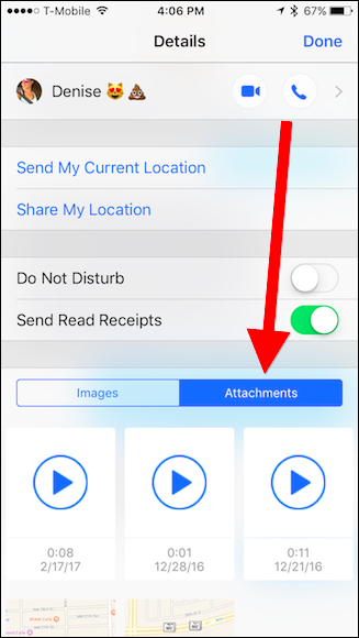 how to set up voice message on iphone 7