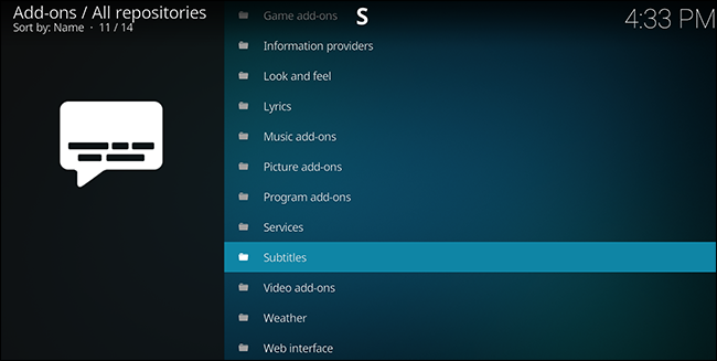 How to Download Subtitles for Movies and TV Shows in Kodi