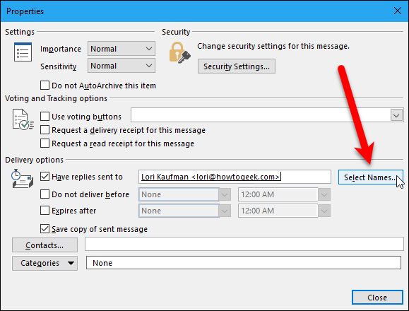 "How to Change the ""Reply To"" Address for Email Messages in"