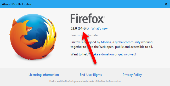 How to Upgrade Firefox from 32-bit to 64-bit in Windows