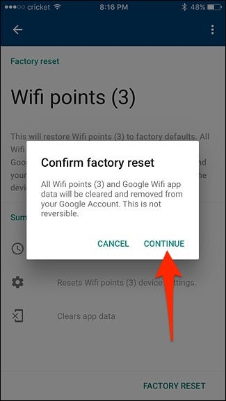 How to Factory Reset the Google WiFi System