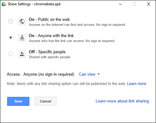 How to Create Shareable Download Links for Files on Google Drive