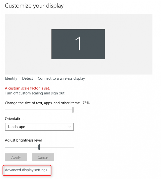 "How to Fix the ""Custom Scale Factor Is Set"" Error on Windows"