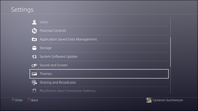 How to Set Custom Wallpapers on the PlayStation 4 or Pro