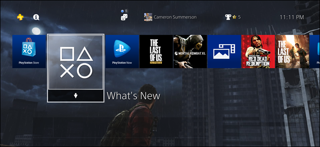 Custom Wallpapers on the PlayStation 4
