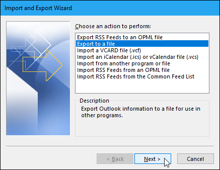 export contacts from outlook 2010 mac