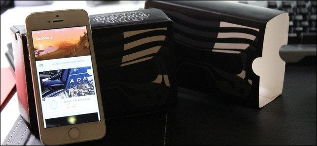 How to Set Up Google Cardboard on an iPhone