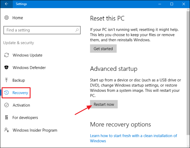 How to Use All of Windows 10's Backup and Recovery Tools