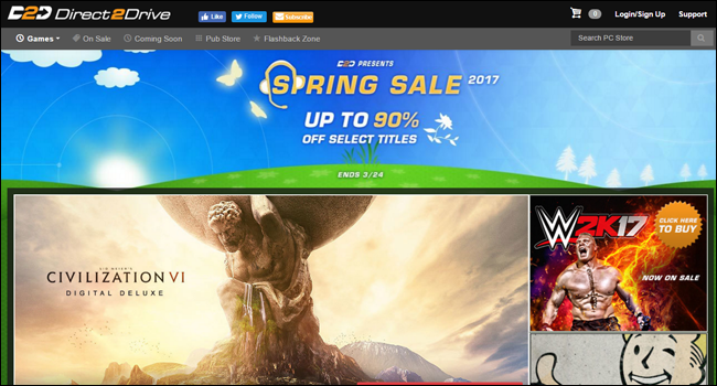 10 Alternatives to Steam for Buying Cheap PC Games