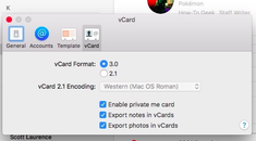 How to Only Share Certain Contact Details with a Private Me Card on macOS