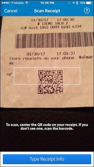 HOW TO ADD RECEIPT TO WALMART SAVINGS CATCHER