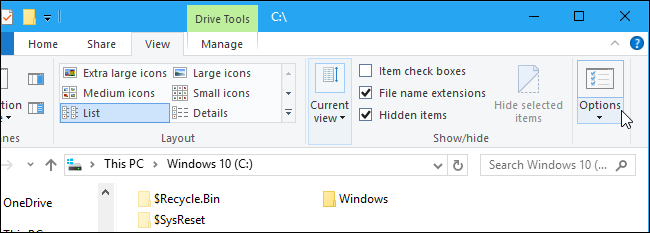 How to Show Hidden Files and Folders in Windows 7, 8, or 10