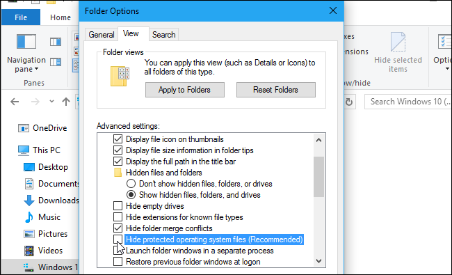 How To Show Hidden Files In Windows