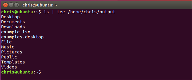 How to Save the Output of a Command to a File in Bash (aka