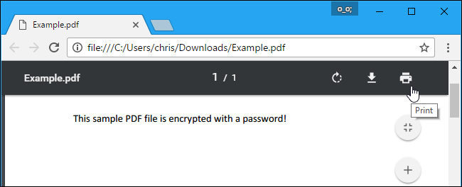 unprotect password protected pdf file